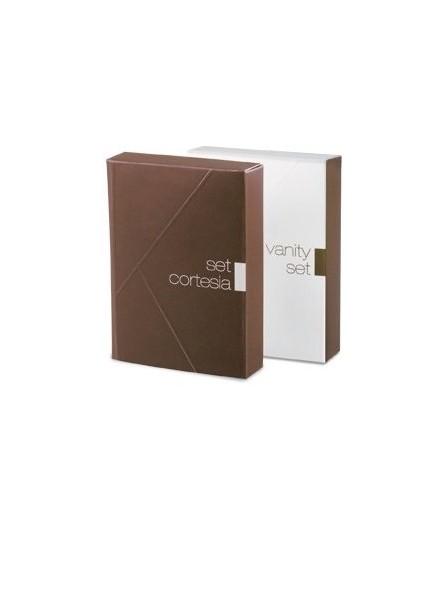 Set cosmetico per hotel & B&B con dischetti levatrucco