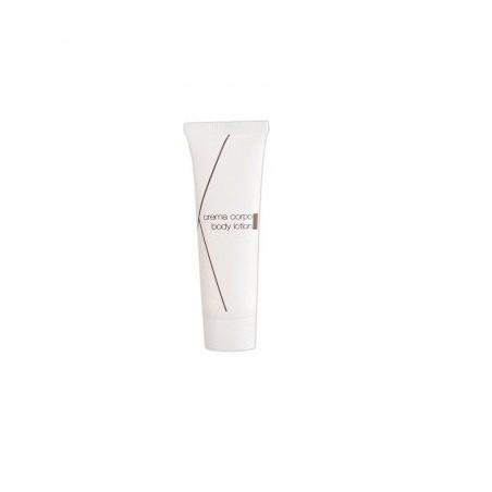 OKIKO Body lotion in 30ml white squeeze tube, pear fragrance