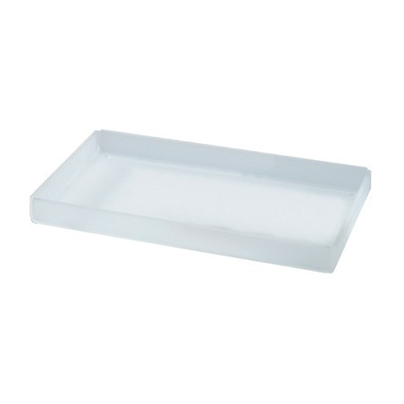 Rectangular Tray for Courtesy Line - in satin plexi