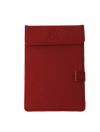 Customized faux leather notepad holder A6