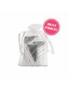 BABYLON LINE KIT  White organza bag packed with:  1 soap 9g 2 shower shampoo bags 10ml 1 20ml tube of body cream