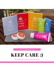 Pacco starter pack della linea di cortesia per hotel e B&B KEEP CARE HAPPILY