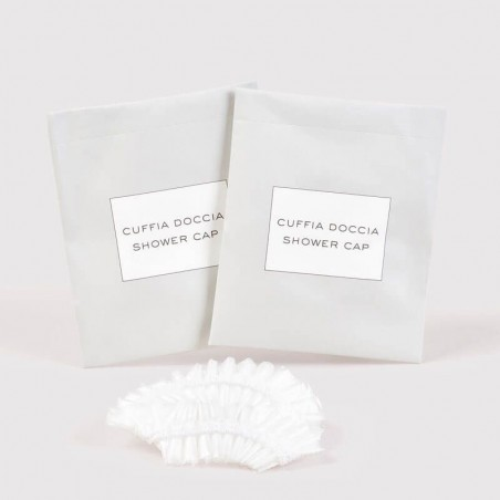 Shower Cap, Eco Sustainable Paper Packaging  Shower Cap obtained from the processing of Corn