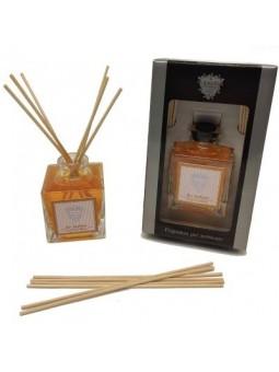 Antichi Profumi Milano Diffusore di fragranze a midollino in confezione regalo nera con finestra trasparente