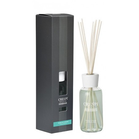 Rattan home fragrance diffuser 250 ml - Cotton Flowers   CRESPI made in italy