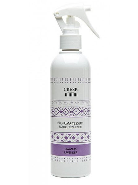 Fabric Spray Made in Italy CRESPI Lavander scented 250ml for hotels and SPAs