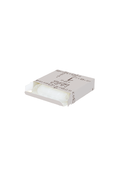 20g square soap in cardboard box, 2-color printing for hotels and B&B - FRAGRANCE: PEAR