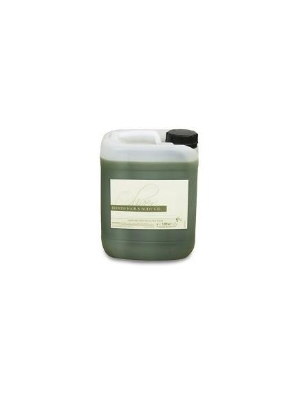 gel doccia tanica 5 litri all'olio d'oliva per hotel e centro benessere linea OLIVER