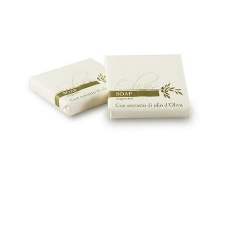 LINEA OLIVER Sapone 20gr forma quadrata, incartato con estratti all'olio d'oliva