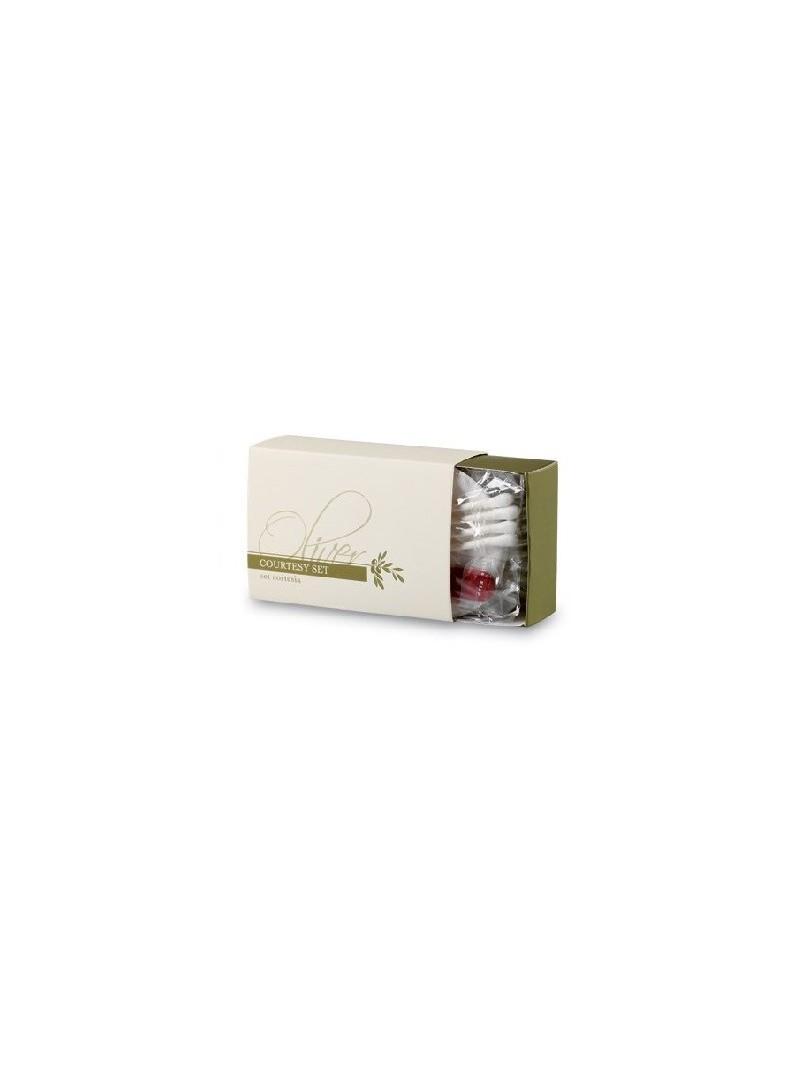 Trousse in cartoncino con cassetto scorrevole