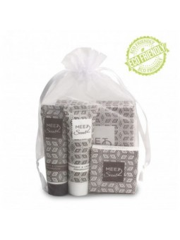 Natural Made in Italy COURTESY KIT FOR HOTELS IN ORGANZA BAG