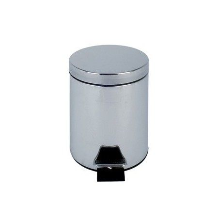 HOTEL PEDAL BIN (3 LITRE) for bathroom and washroom in stainless steel with pedal