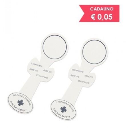Adhesive seal guarantee hygiene for toilet -1000pcs