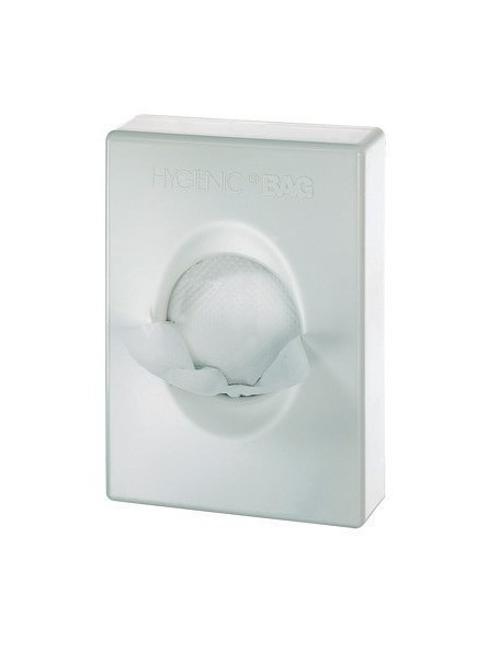 The sanitary bag dispenser is perfect to be placed in public restrooms to promote cleanliness and hygiene.