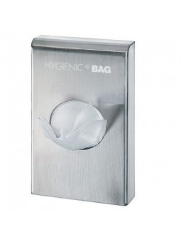 Stainless steel sanitary bag dispenser