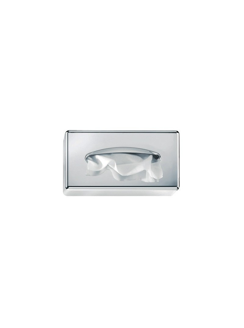 Silver tissue box 25x14x6 cm