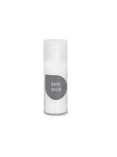 Sali da bagno in flacone per hotel e B&B. EASY LINE Sali Bagno bianchi in flacone 30ml