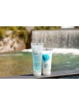 LINEA BLU Tubetto body lotion 20ml, tappo flip-top, liquido bianco opaco € 0,146