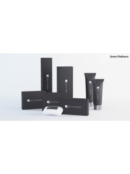 Black, elegant and posh, that's PLATINERO amenities collection from Italy