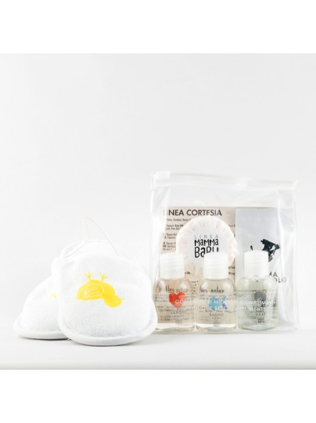 Travel/Gift Mini-Set + baby slippers MAMMABABY
