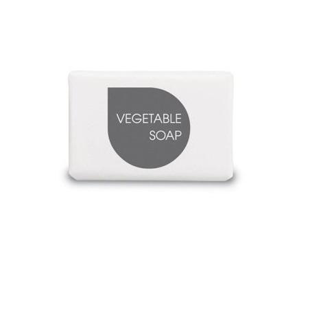 EASY LINE 13g rectangular vegetable soap bar, wrapped.