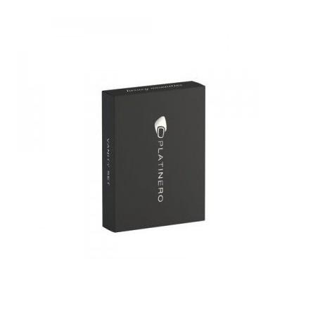 Vanity set  in astuccio soft touch nero dim.45x85x15 mm