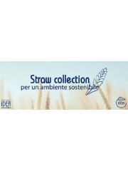 Biodegradable Natural hotel toiletries Made in Italy - STRAW COLLECTION